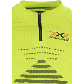 X-Bionic Trail Running Effektor OW LS Zip-Up Top Men green lime/black